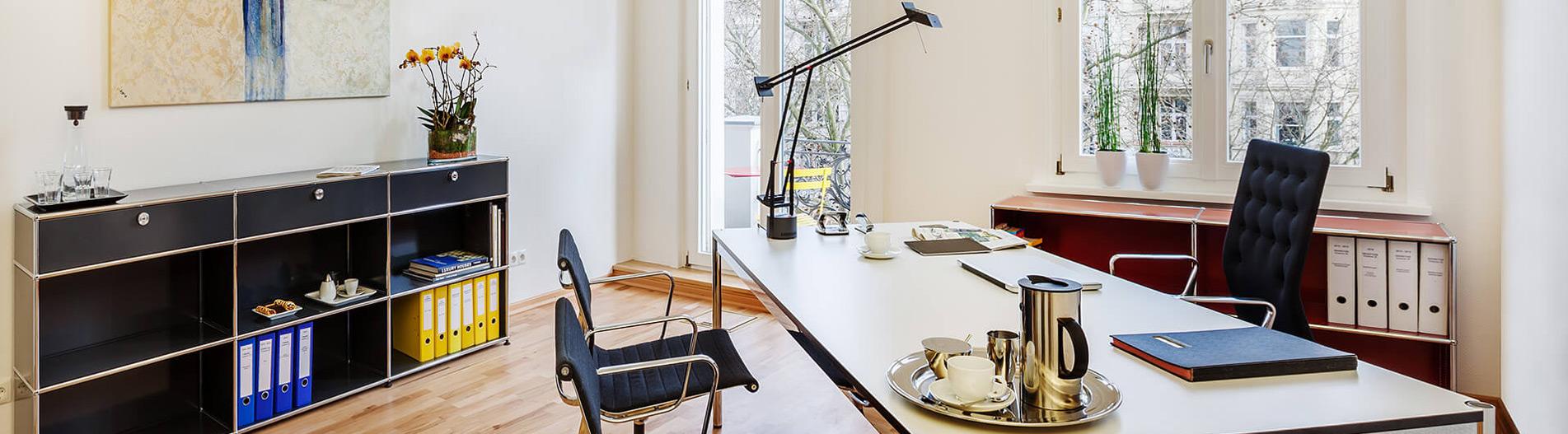 Büros am Kurfürstendamm in Berlin