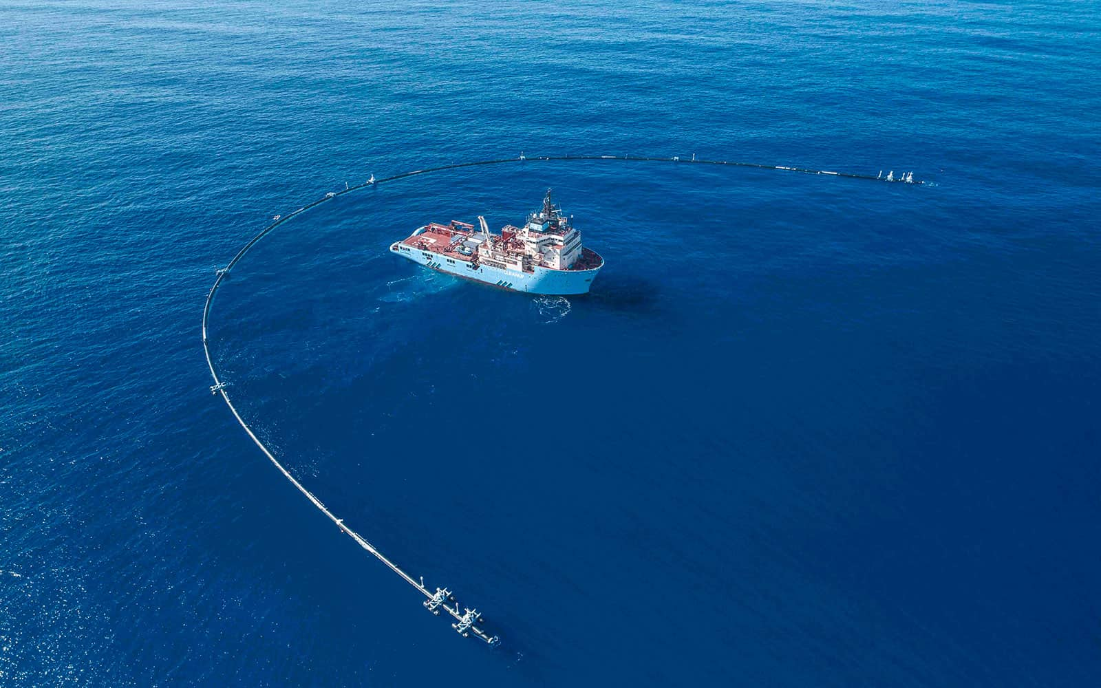 Projekte The Ocean Cleanup Testversuch